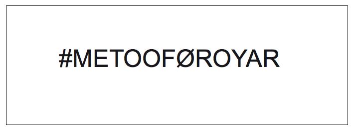 Hví #metooFøroyar?
